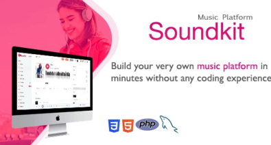 Download Soundkit v2.3.3 - Social Music Sharing Platform Free / Nulled