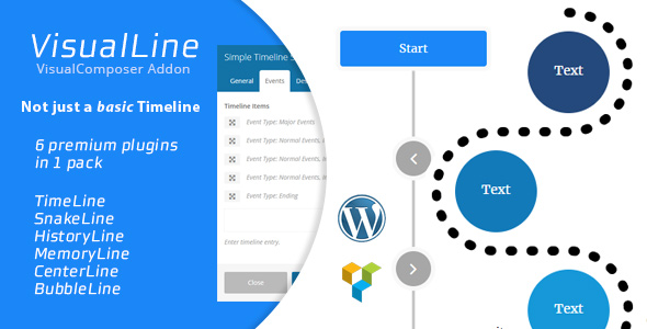 Download Visual Line v2.0.7 - WordPress Timeline Plugin Free / Nulled