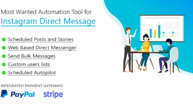 Download DM Pilot v3.0.1 - Most Wanted SaaS Automation Tool for Instagram Direct Message Free / Nulled