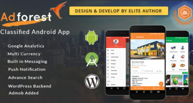 Download AdForest v2.2.1 - Classified Native Android App Free / Nulled