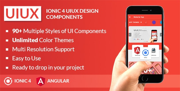Download UIUX v1.1 - IONIC 4 UI Design Components | Multipurpose Starter App Free / Nulled