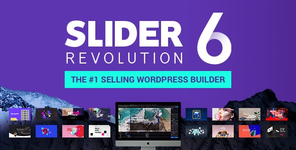 Download Slider Revolution v6.1.5 - Responsive WordPress Plugin + Addons Free / Nulled