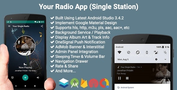 Download Your Radio App (Single Station) v4.0.1 - Free / Nulled