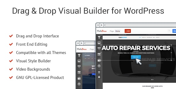 Download MotoPress Content Editor v3.0.4 - Visual Builder for WordPress Free / Nulled