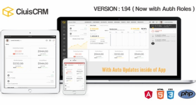 Download CiuisCRM v1.94 Free / Nulled