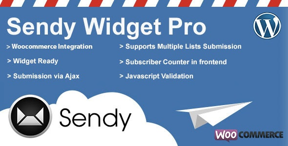 Download Sendy Widget Pro v3.4.3 - WP Plugin Free / Nulled
