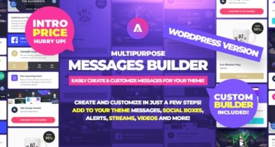 Download Asgard v1.1.0 - Multipurpose Messages and Social Builder Plugin Free / Nulled