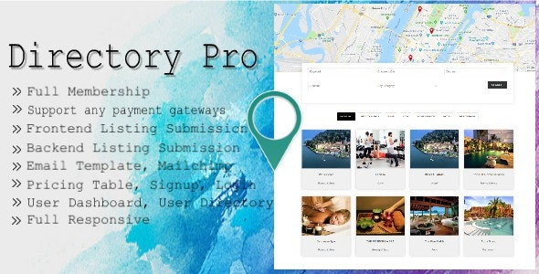 Download Directory Pro v1.8.0 - WP Plugin Free / Nulled