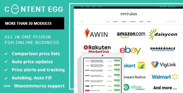 Download Content Egg v6.1.1 - all in one plugin for Affiliate Free / Nulled