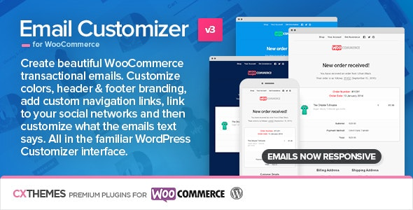 Download Email Customizer for WooCommerce v3.33 Free / Nulled