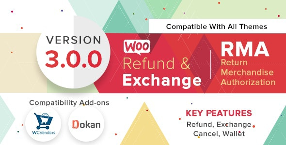 Download WooCommerce Refund And Exchange With RMA v3.0.0 Free / Nulled