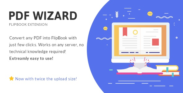 Download PDF To FlipBook Extension v3.2 Free / Nulled