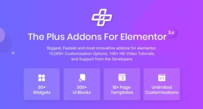 Download The Plus v3.0.6 - Addon for Elementor Free / Nulled