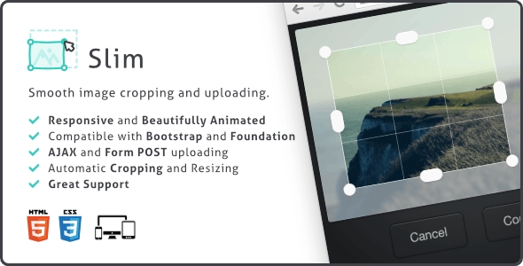 Download Slim Image Cropper v1.9.0 - Responsive Uploading and Ratio Cropping Plugin Free / Nulled