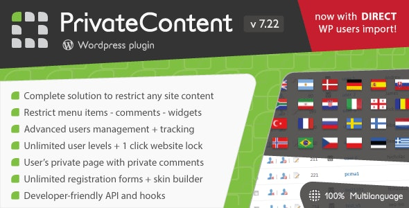 Download PrivateContent v7.22 - Multilevel Content Plugin Free / Nulled