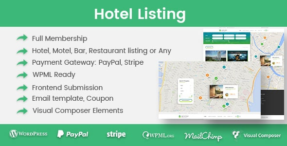 Download Hotel Listing v1.2.8 Free / Nulled