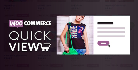 Download Woo Quick View v1.6.3 - An Interactive Product Quick View for WooCommerce Free / Nulled