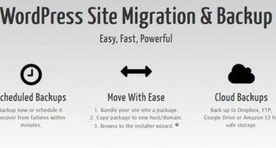 Download Duplicator Pro v3.8.6.2 - WordPress Site Migration & BackUp Free / Nulled