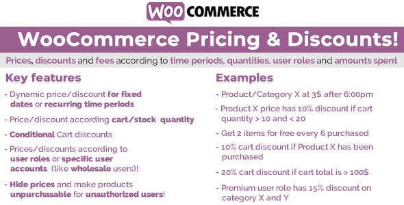 Download WooCommerce Pricing & Discounts! v12.3 - Free / Nulled