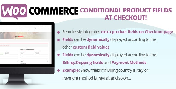 Download Conditional Product Fields at Checkout v3.9 - Free / Nulled