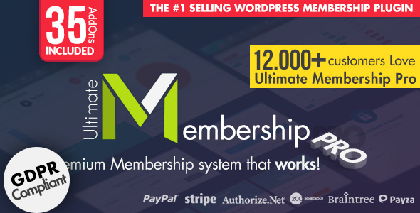 Download Ultimate Membership Pro WordPress Plugin v8.5 - Free / Nulled
