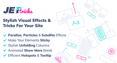 Download JetTricks v1.2.4 - Visual Effects Addon for Elementor Free / Nulled
