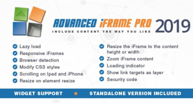 Download Advanced iFrame Pro v2019.9 - Free / Nulled