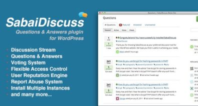 Download Sabai Discuss for WordPress v1.4.8 Free / Nulled