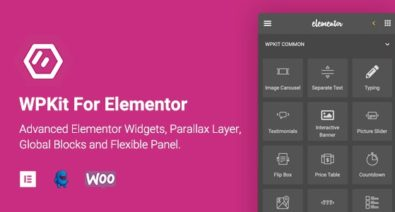 Download WPKit For Elementor v1.0.2 - Advanced Elementor Widgets Collection & Parallax Layer Free / Nulled