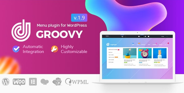 Download Groovy Mega Menu v1.9.2.1 - Responsive Mega Menu Plugin for WordPress Free / Nulled