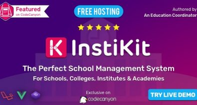 Download InstiKit School v2.3.0 - School ERP for School, College, Institute and Academy Free / Nulled