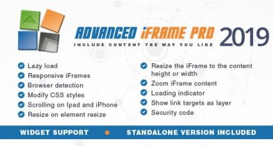 Download Advanced iFrame Pro v2019.10 Free / Nulled