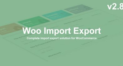 Download Woo Import Export v2.8.3 - Free / Nulled