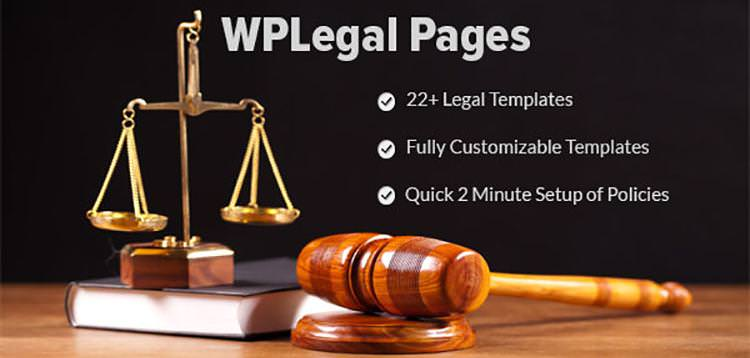 Download WP Legal Pages Pro v7.6 - WordPress Plugin Free / Nulled