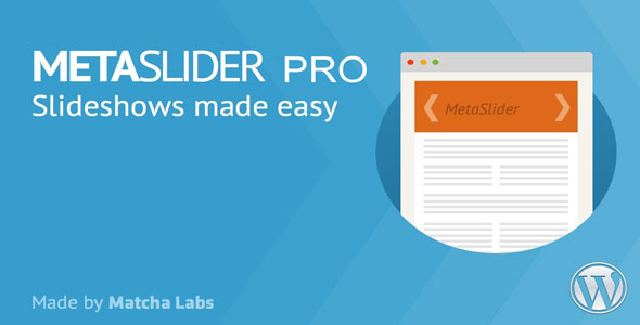 Download MetaSlider Pro v2.15.0 - WordPress Plugin Free / Nulled