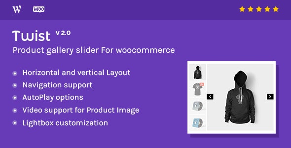 Download Twist v2.1 - Product Gallery Slider for Woocommerce Free / Nulled