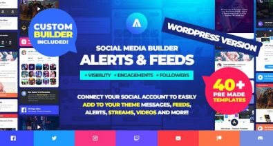 Download Asgard v1.1.4 - Multipurpose Messages and Social Builder Plugin Free / Nulled