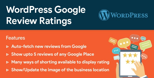 Download WordPress Google Reviews & Ratings v2.6 Free / Nulled