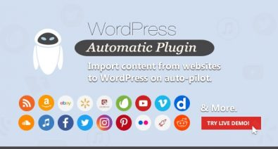 Download Wordpress Automatic Plugin v3.46.9 Free / Nulled