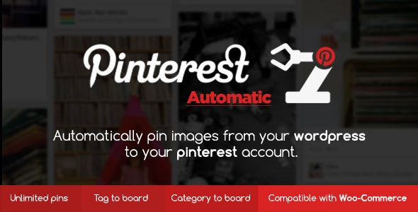 Download Pinterest Automatic Pin Wordpress Plugin v4.14.1 Free / Nulled