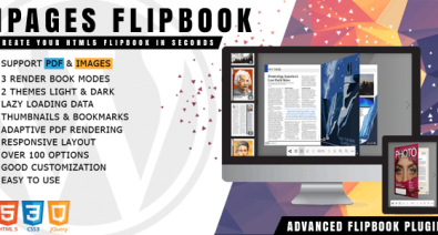 Download iPages Flipbook For WordPress v1.2.1 Free / Nulled