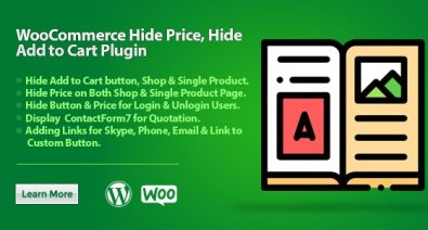 Download WooCommerce Hide Price, Hide Add to Cart Plugin v1.0.4 Free / Nulled