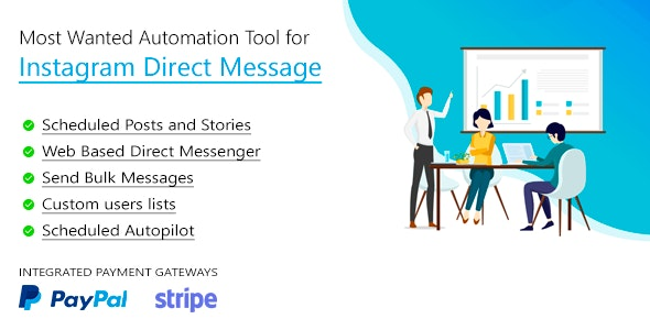 Download DM Pilot v3.0.7 - Instagram Most Wanted Automation Tool for Direct Message & Scheduled Posts Free / Nulled
