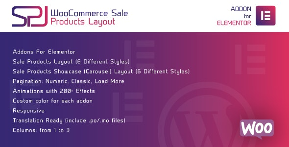 Download WooCommerce Sale Products Layout for Elementor v1.0 - WordPress Plugin Free / Nulled