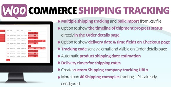 Download WooCommerce Shipping Tracking v23.9 Free / Nulled