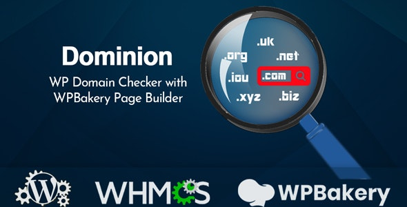 Download Dominion v1.2 - WP Domain Checker with WPBakery Page Builder Free / Nulled