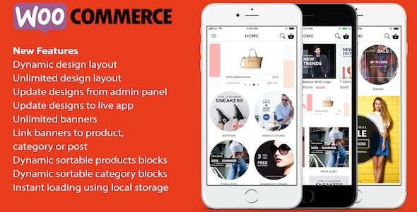 Download ionic 3 App for WooCommerce v8.0.1 Free / Nulled