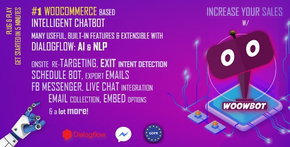 Download WoowBot v12.3.1 - Chat Bot for WooCommerce Free / Nulled