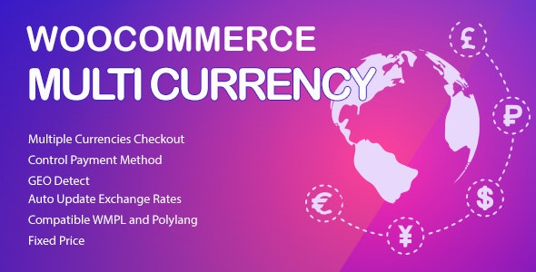 Download WooCommerce Multi Currency v2.1.8 - Currency Switcher Free / Nulled