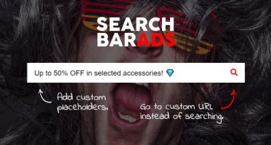 Download Search Bar Ads v1.0.0 - WooCommerce Plugin Free / Nulled